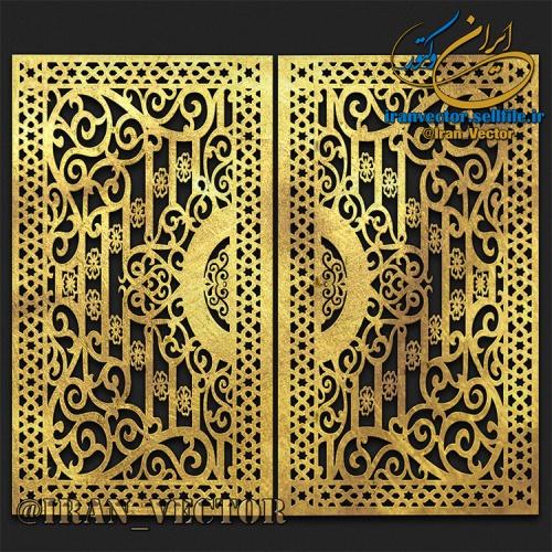 دانلود الگوهای برش در - کد 81706 - طرح های وکتور