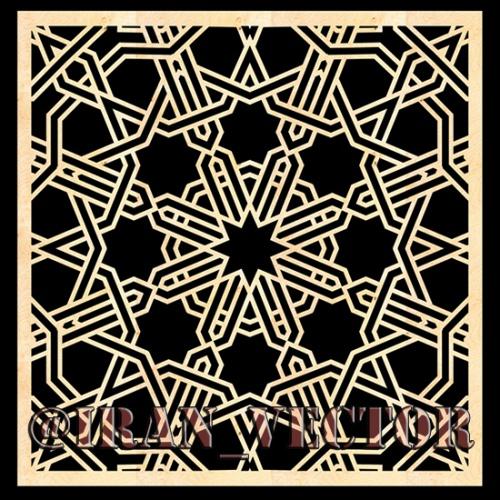 دانلود الگوهای پنل مشبک - کد 2147 - طرح های وکتور